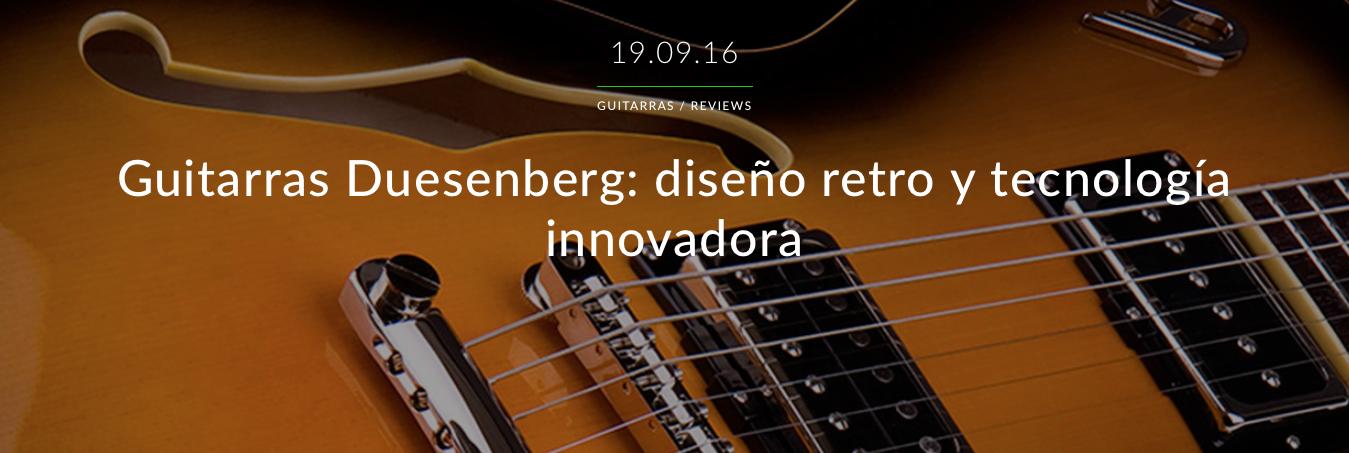 guitarras duessenberg
