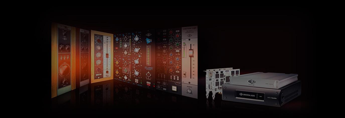 Plug-ins gratis con tu nueva UAD-2: el extraordinario sonido analógico de los clásicos en tu estudio