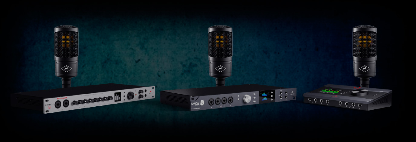 Promoción Antelope Audio: interfaz de audio más micrófono de modelado a un precio increíble