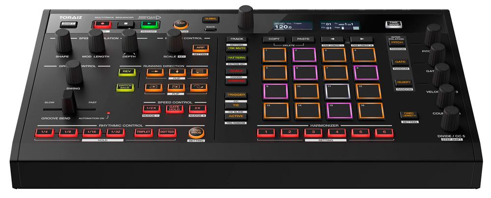 Presentación del secuenciador multipista Toraiz Squid de Pioneer DJ para crear música en directo o en el estudio.