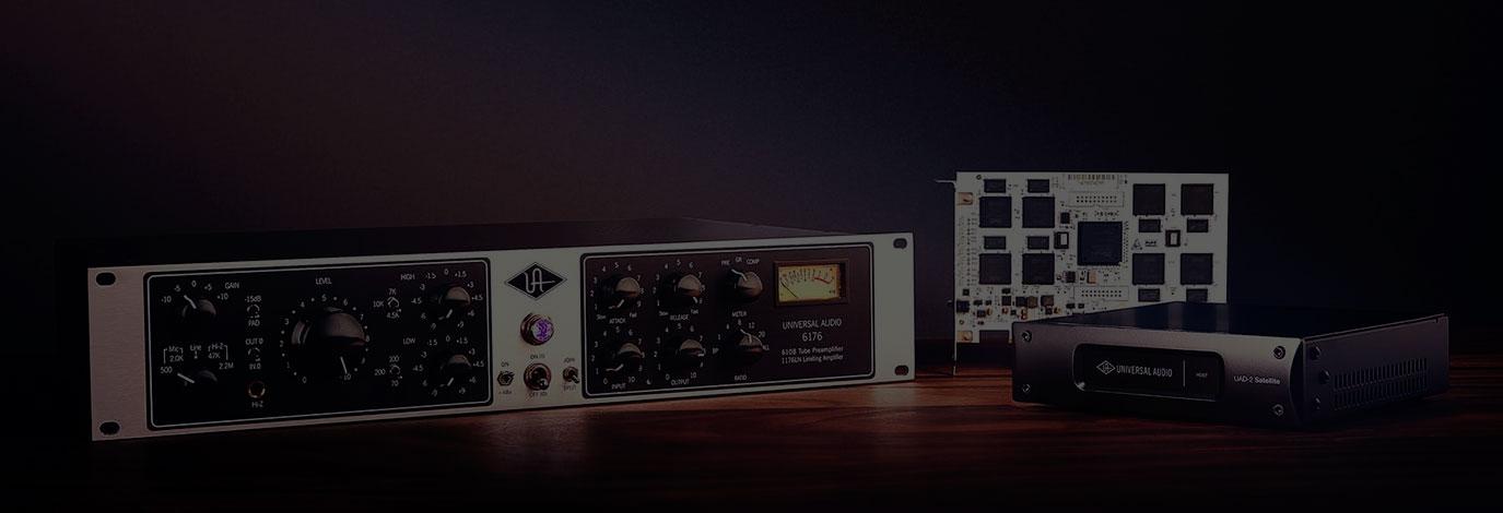Premium Studio Upgrade: llévate una UAD-2 Octo DSP gratis con la compra de un 6176 Vintage Channel Strip, el legendario canal de grabación analógico UA 610