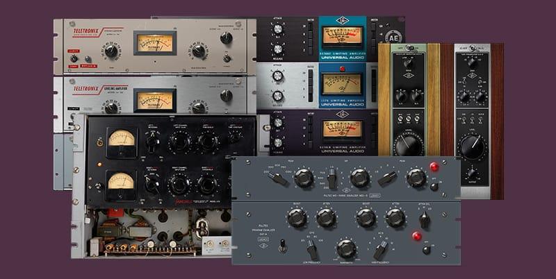 Plug-ins gratis con tu nueva interfaz de audio Apollo Twin MkII o Apollo Twin USB