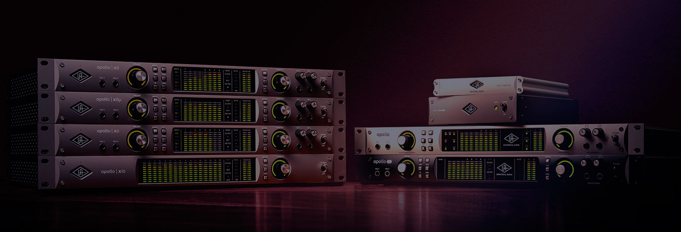 Plug-ins UAD gratis al expandir tu sistema Apollo o UAD-2 Octo DSP