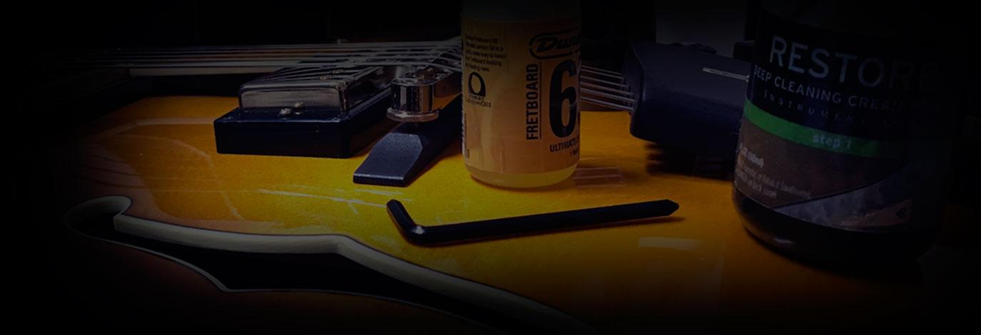 Taller sobre el ajuste y mantenimiento de guitarras y bajos