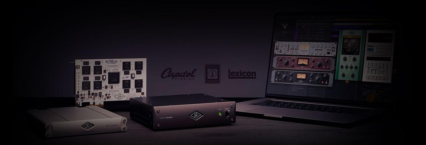 Llévate plug-ins UAD gratis al comprar tu nuevaaceleradora UAD-2DSP ¡Oferta por tiempo limitado!