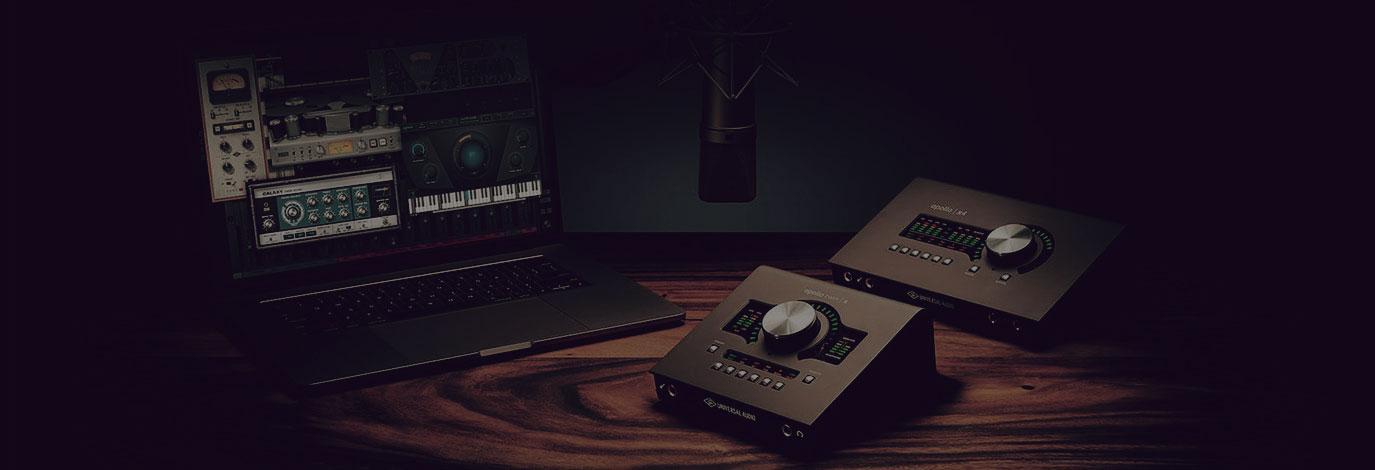 Plug-ins gratis con tu nueva interfaz Apollo Twin o Apollo x4