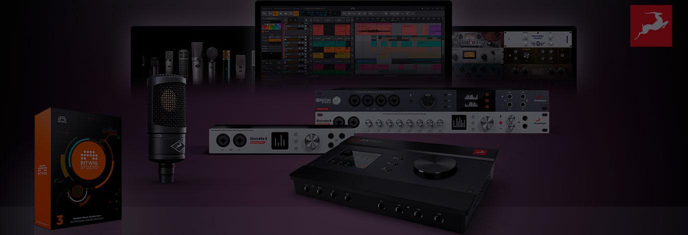 Promoción de Antelope Audio: llévate un estudio completo con la compra de tu interfaz Synergy Core