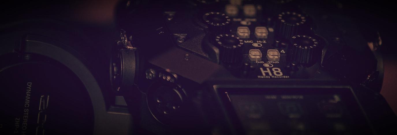 Zoom H8 es el grabador de audio digital portátil más avanzado hasta la fecha, una grabadora digital de mano que se adapta a su forma de crear.