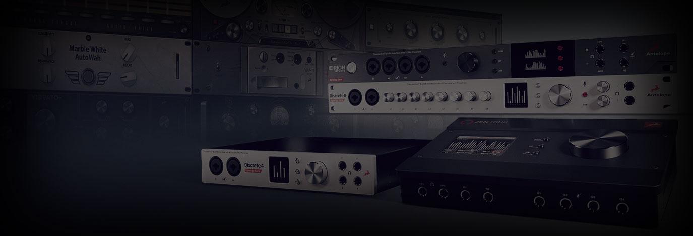 ¡Promoción de Antelope Audio! Llévate una colección completa de pluginsal comprar tu nueva Synergy Core