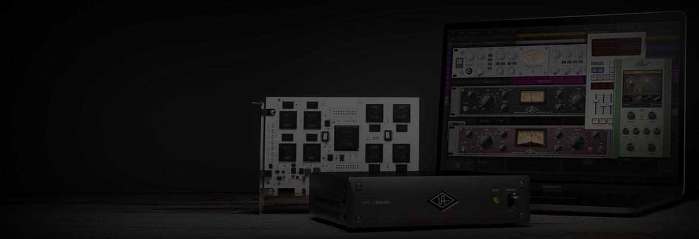 Llévate plug-ins UAD gratis con tu nueva UAD-2 DSP