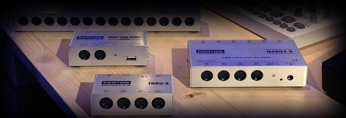 ¡Ya tenemos en tienda las interfaces MIDI Kenton, la mejor opción para todo lo relacionado con el MIDI!