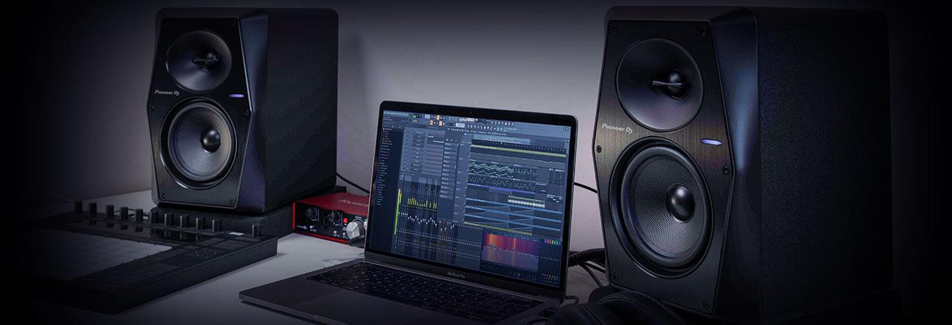 Los nuevos monitores activos Pioneer DJ VM ofrecen un sonido ideal para DJ y productores