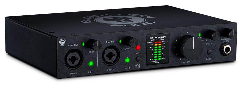 Black Lion AudioRevolution 2 x 2es una interfaz de audio USB 2.0 de alta calidadque ofrece uno de los sonidos más avanzados del mercado.
