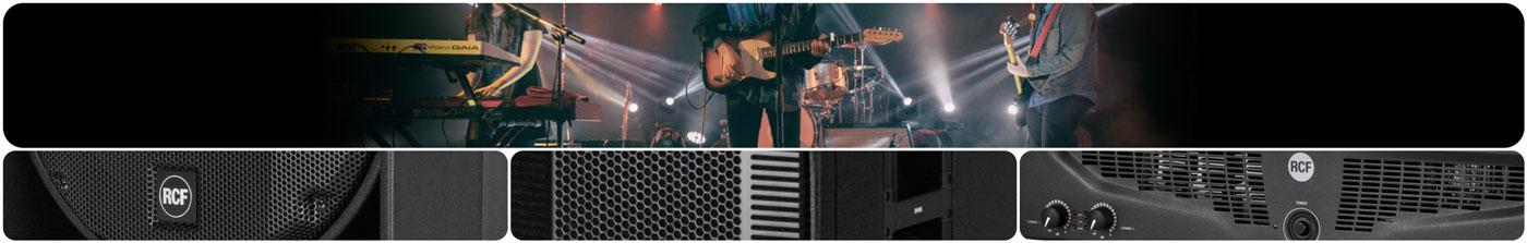 RCF esuna empresa italiana que diseña y fabrica productos de audio de alto rendimiento por lo que es ampliamente reconocida a nivel mundial