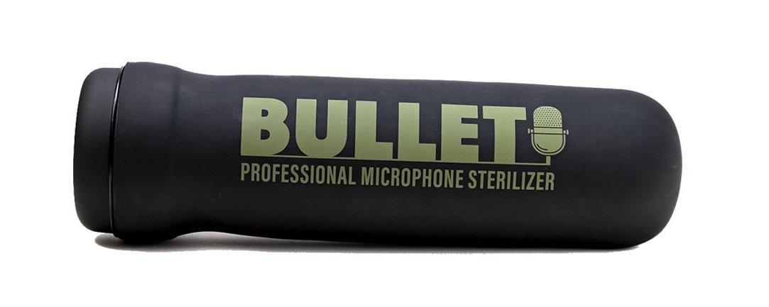 Violawave Bullet: elimina hasta el 99.5% de bacterias y virus de tus micrófonos en solo 5 minutos