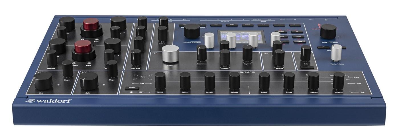 Waldorf M: Nuevo sintetizador wavetable híbrido