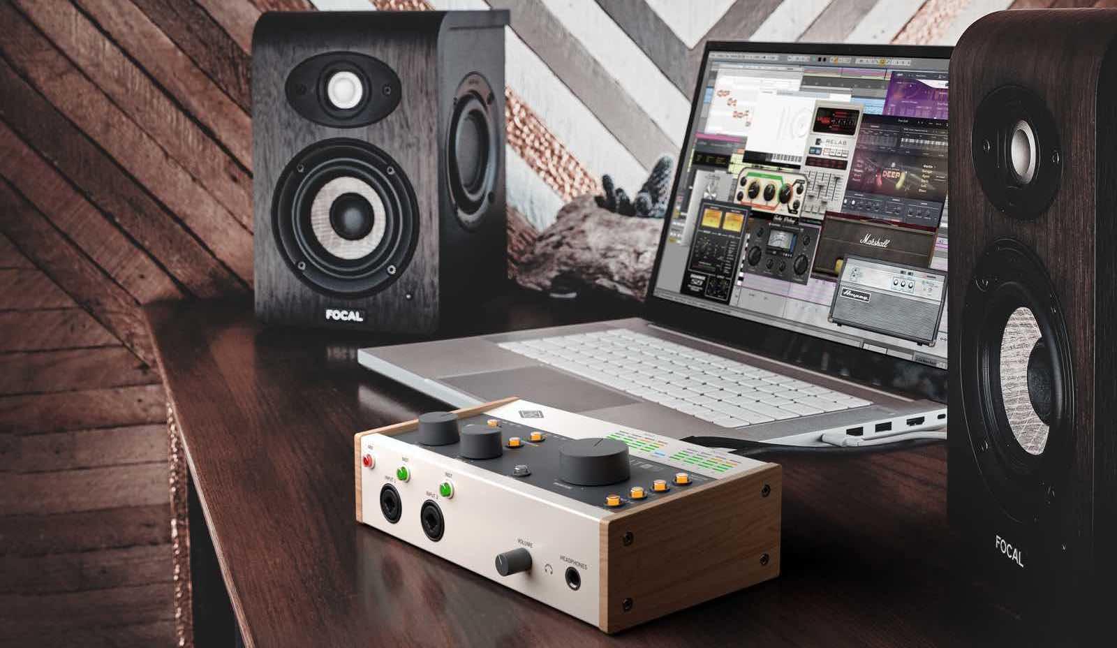 Universal Audio Volt es la nueva serie de interfaces de audio USB-C que ofrece todo el sabor analógico de Universal Audio a un precio accesible.