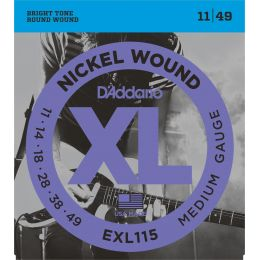 D'Addario EXL115 XL Blues/Jazz Rock [11-49]