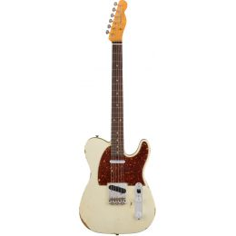 Fender Custom Time Machine 1961 Relic Telecaster Aged Olympic White