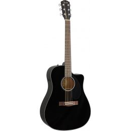 Fender CD 60SCE Negra (BLK)