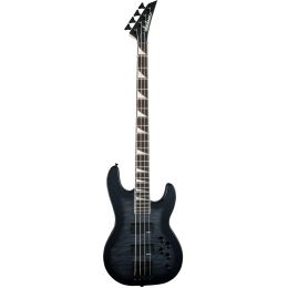 Jackson JS Concert Bass JS3Q Transparent Black Burst