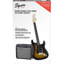 Squier Affinity Series Stratocaster HSS Pack BSB