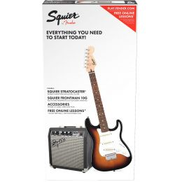Squier Strat SS Pack (Short-Scale) BSB