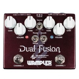 Wampler Dual Fusion Tom Qualy Signature Overdrive