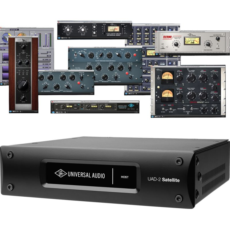 Universal Audio UAD2 Satellite USB Quad Custom Aceleradora DSP para PC